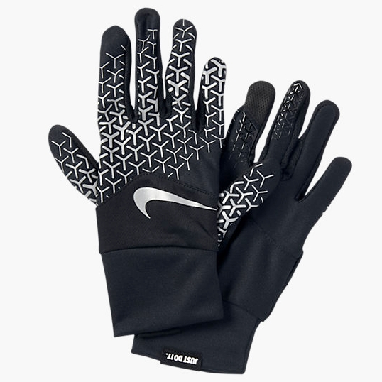 These Nike gloves are hella cute -- and practical too, since you can   skip ahead and blast that bangin' new Nicki Minaj/Major Lazer collab without freezin' your fingers.     Grab 'em  here .