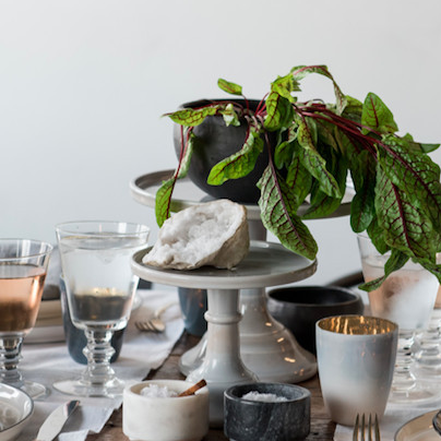 Salt & Sundry      This is  sure as hell not your grandma's home goods store.  Founder Amanda McClements has got the perfect ceramics you need for bae's mom and some seriously cute cocktail sets you'll have to have for yourself.