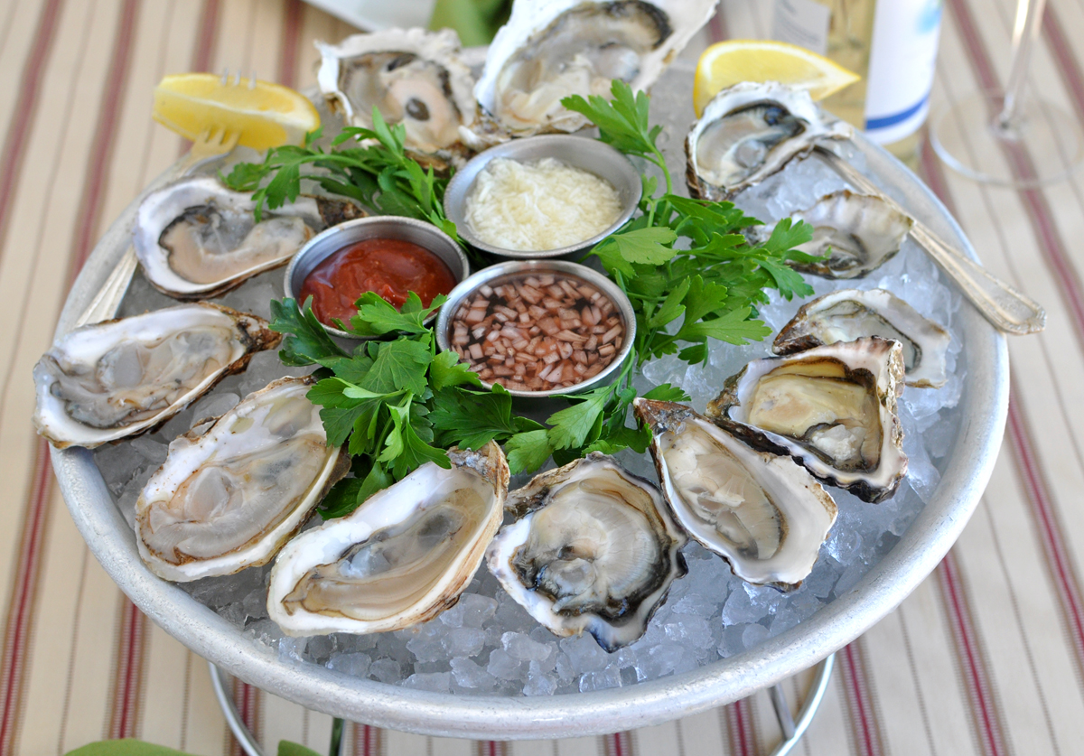 Oysters   Rumor has had it that eating oysters will  stimulate your libido like WOAH  because, after all, legendary Cassanova in the 18th century apparently used to pound oysters before his romp sessions...but will it work for you? Truth be told, the research is still meh on this one. Although a 2005 study tried to show that eating raw oysters, especially in the springtime (when oysters themselves are most active), can provide the greatest boost, some of the research is not 100% clear. Scientists describe two aspects that make oysters a rumored aphrodisiac: first, they contain amino acids (building blocks of proteins) that play a role in sex hormone production, and second, they are a good source of zinc, which may boost testosterone production.     Verdict:  Try this one for yourself if you like the taste of oysters, but don't be surprised if you're not jumping into bed.
