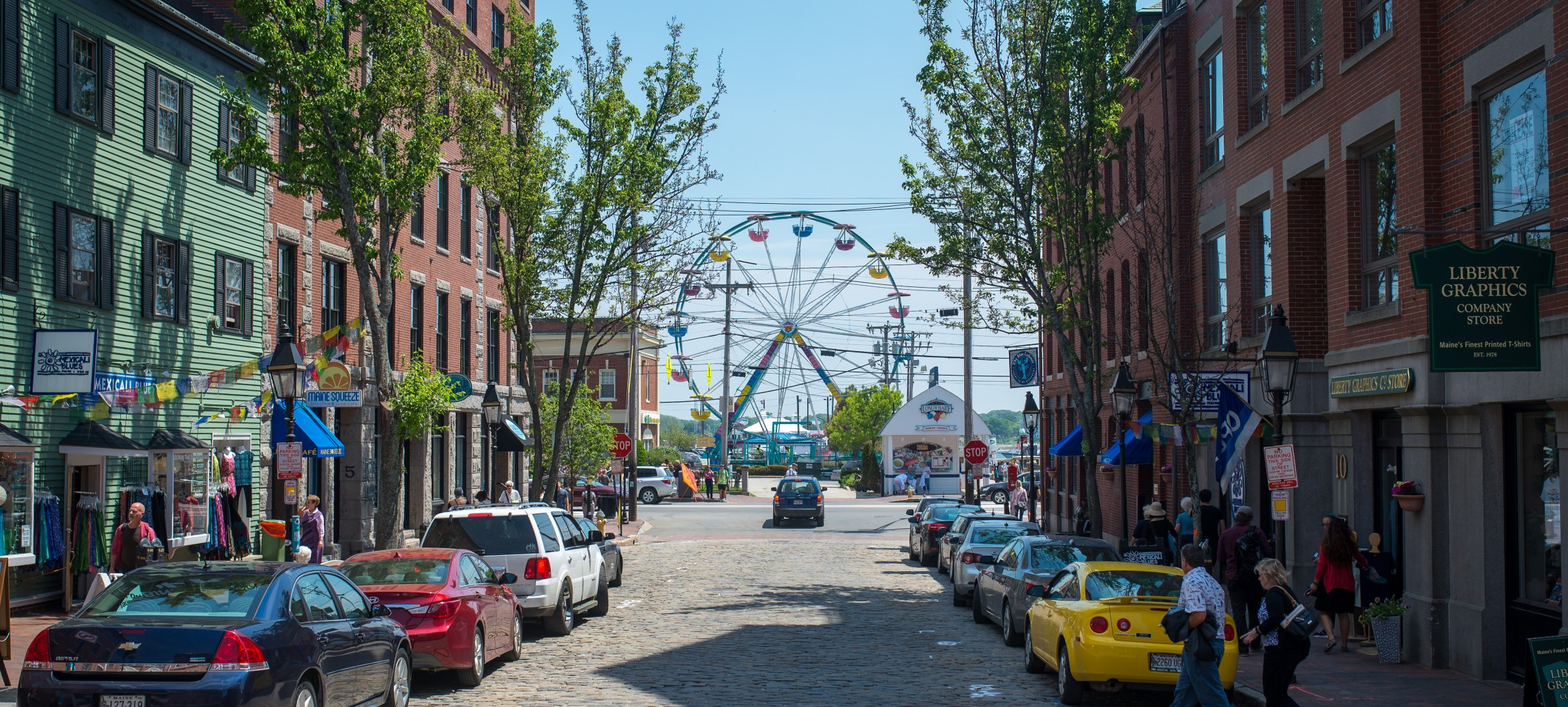BOSTON TRIPPIN': Portland   It may not have the quirky street cred of it's Oregon sister city, but Portland, Maine is a funky little fishing town that's well worth the two hour trip from Bean Town. The harbor views are picture-perfect enough to make all your Insta followers jealous -- especially from the top of Portland Observatory. While you're oceanside, stop for a drink and some local music at the Portland Lobster Company or nearby Liquid Riot Bottling Co., a distillery, restaurant and bar in one. Keep rockin' all night with a concert at One Longfellow Square or Port City Music Hall -- and then to  cure your hangover next morning, there's only one answer:  The Holy Donut.