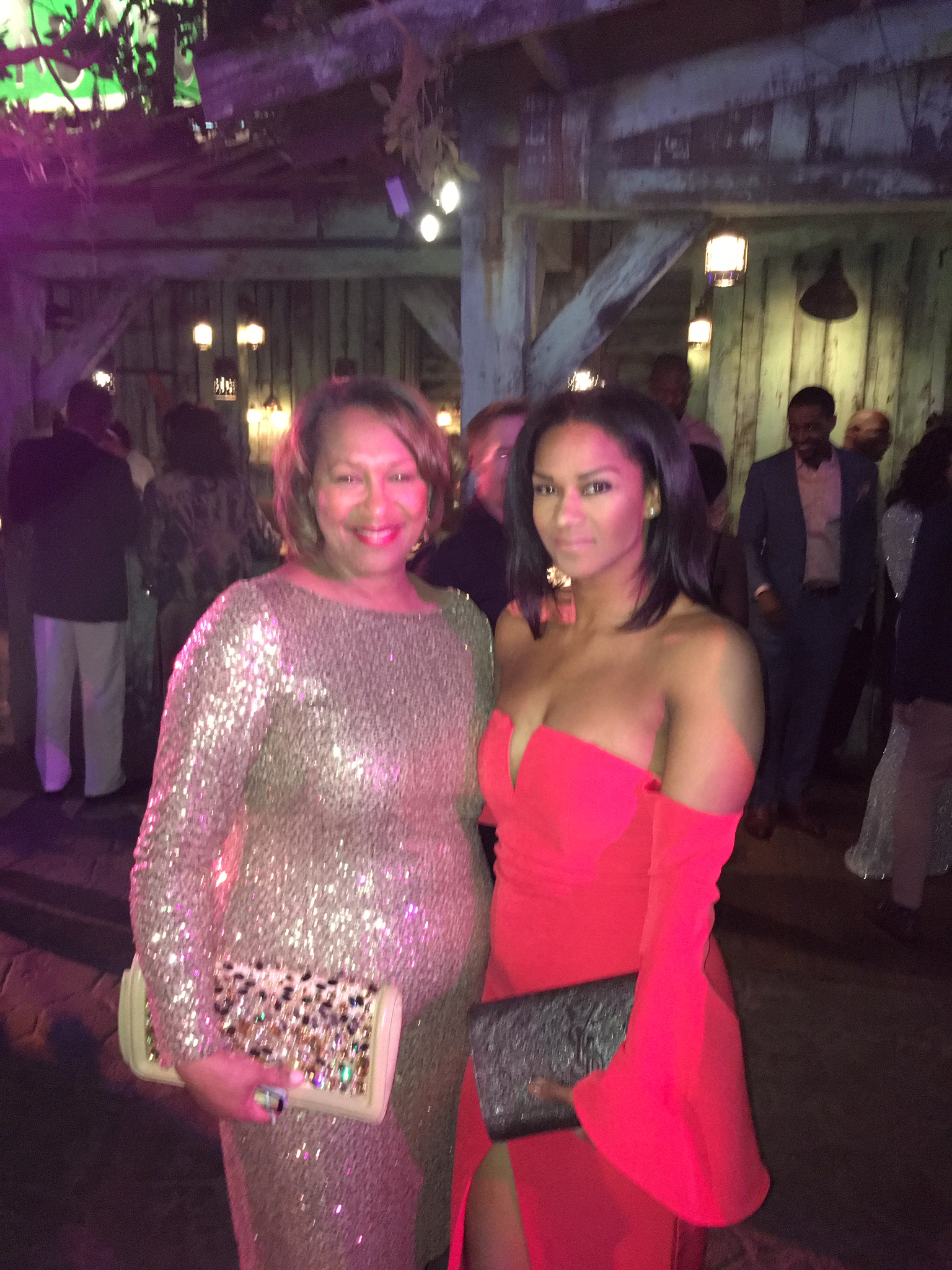 """""""My mom is spicy, savvy, stylish, and sweet. She's a bonafide boss lady, a go-getter and go-giver! I get all those cool traits from her. Thanks, Mama Louisiana! (That's where we are from and she LOVES Beyoncé as much as me—they even have the same bday).""""  Jalina Porter, DC Instructor"""