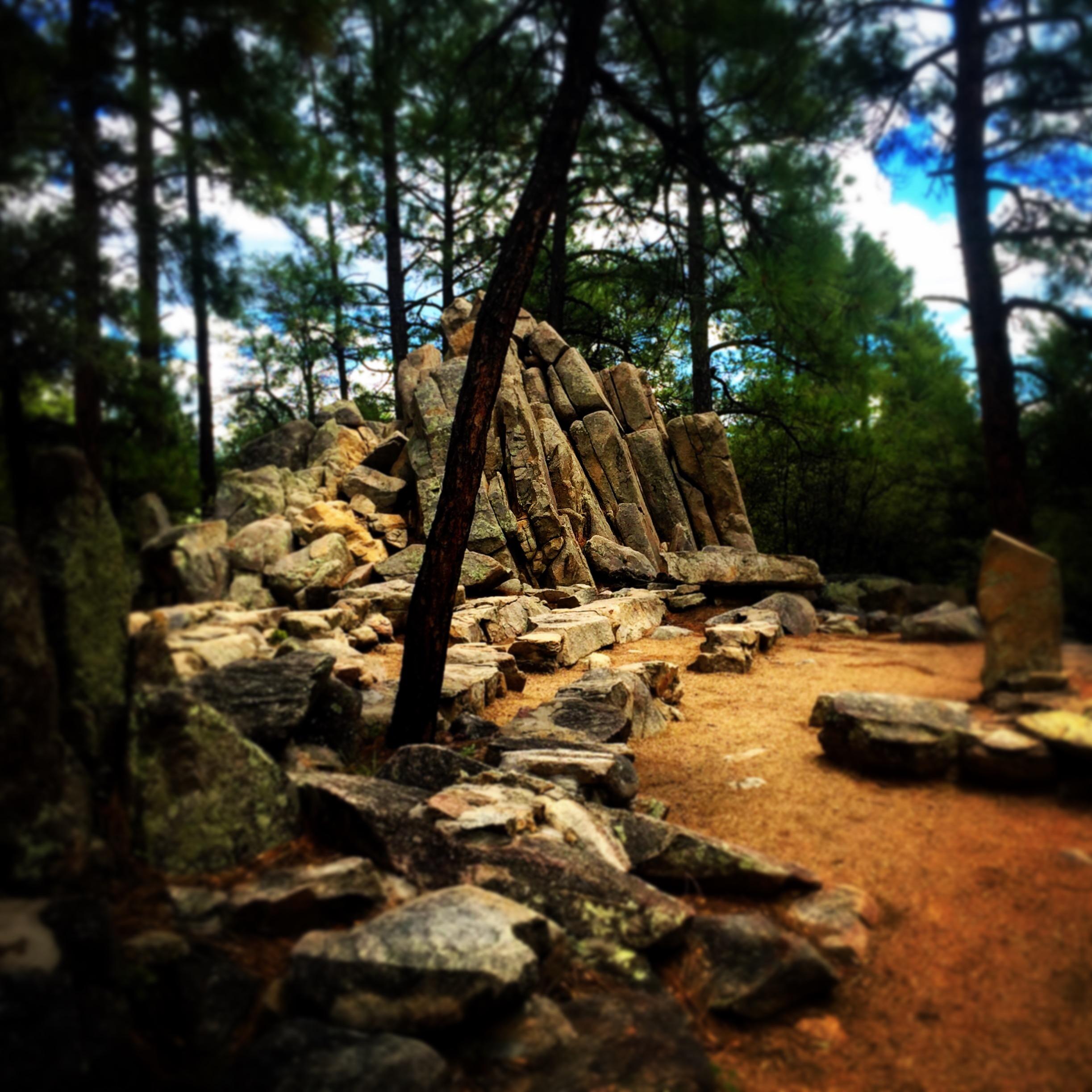 Rock Chapel, Chapel Rock, Prescott, AZ. Photo by Eric K. Carr