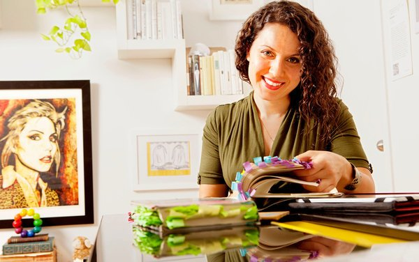 Maria Popova. Photograph by Elizabeth Lippman for  The New York Times