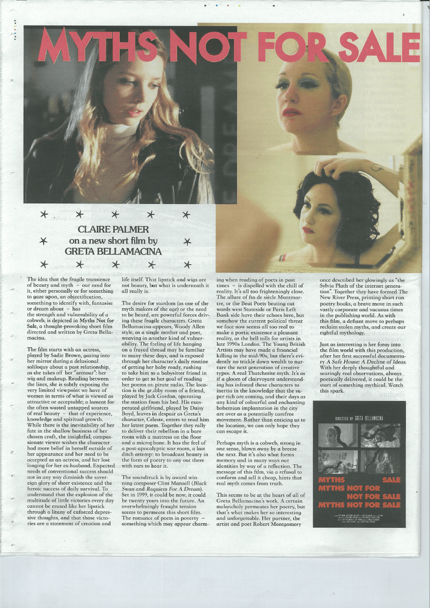 International Times film review.