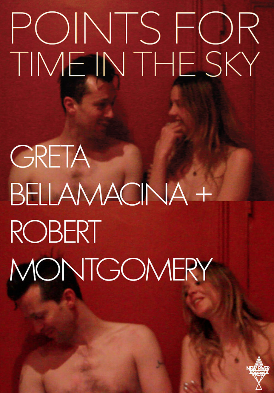 Greta Bellamacina + Robert Montgomery's collection Points For Time In The Sky, second edition available with New River Press.