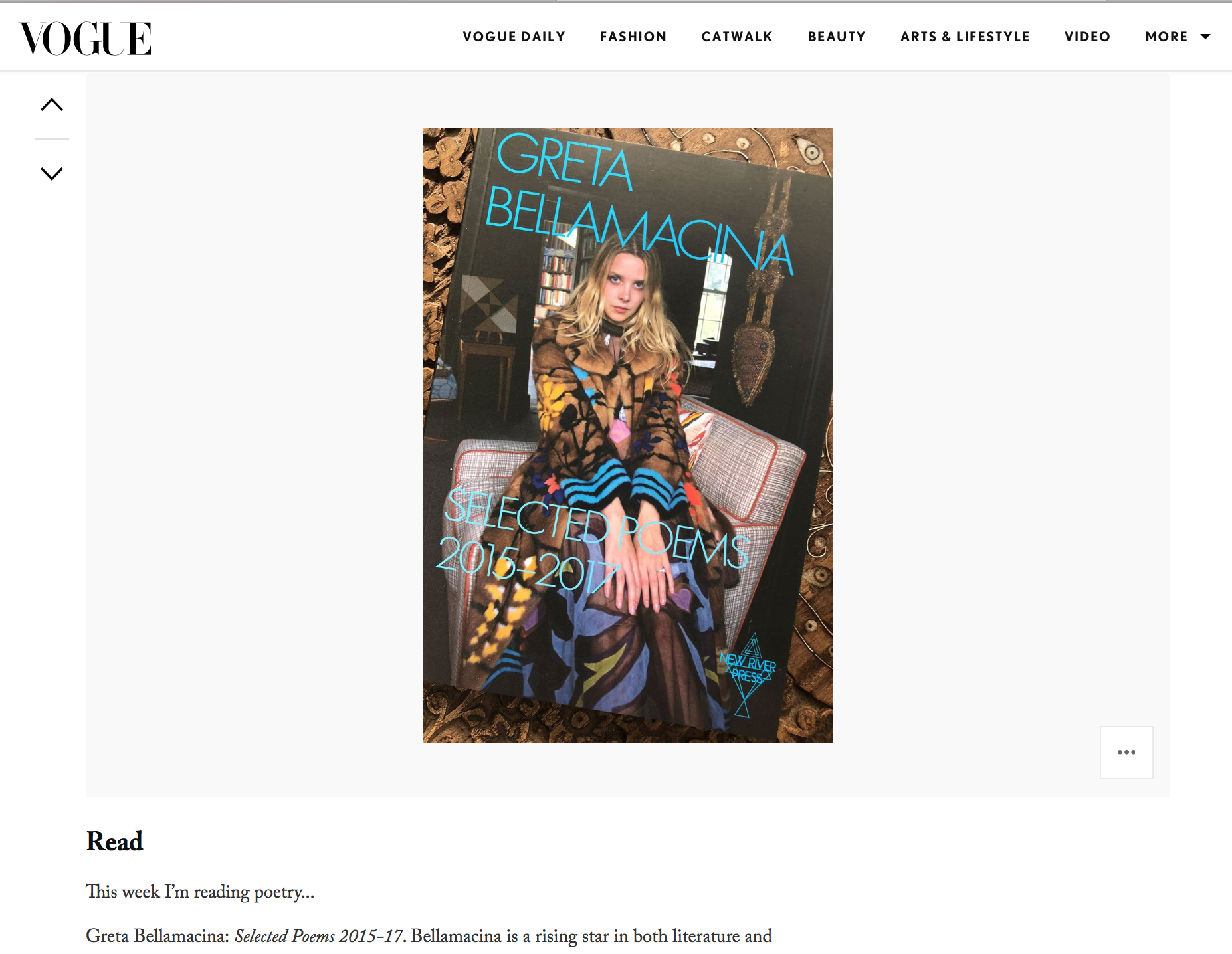 Read more on Laura Bailey's column on Vogue.co.uk:http://www.vogue.co.uk/gallery/laura-loves-laura-baileys-weekly-edit-11