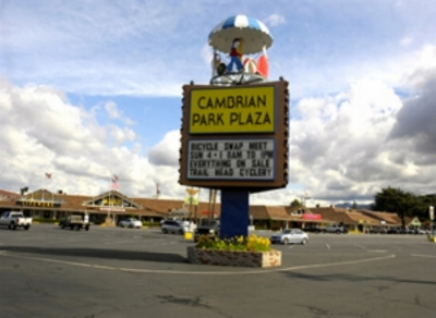 Cambrian Park Carousel, a local landmark.