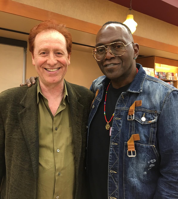 Craig with longtime music associate, Randy Jackson.