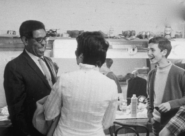 Dizzy Gillespie mentoring young jazz prodigy, Craig