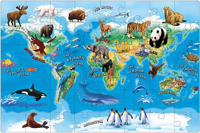 Happy #EarthDay ! We are all so fortunate to live on such a remarkable planet full of LIFE! Let's keep protecting our world with all its wonders. . . . #wildlife #animals #endangered #tigers #elephants #lions #africa #africananimals #safari #panda #asia #bears #planet #ocean #map #illustration #art #artwork #graphic #conservation #sea #birds #earth #holiday #love #protect #monkeys #earthday2018