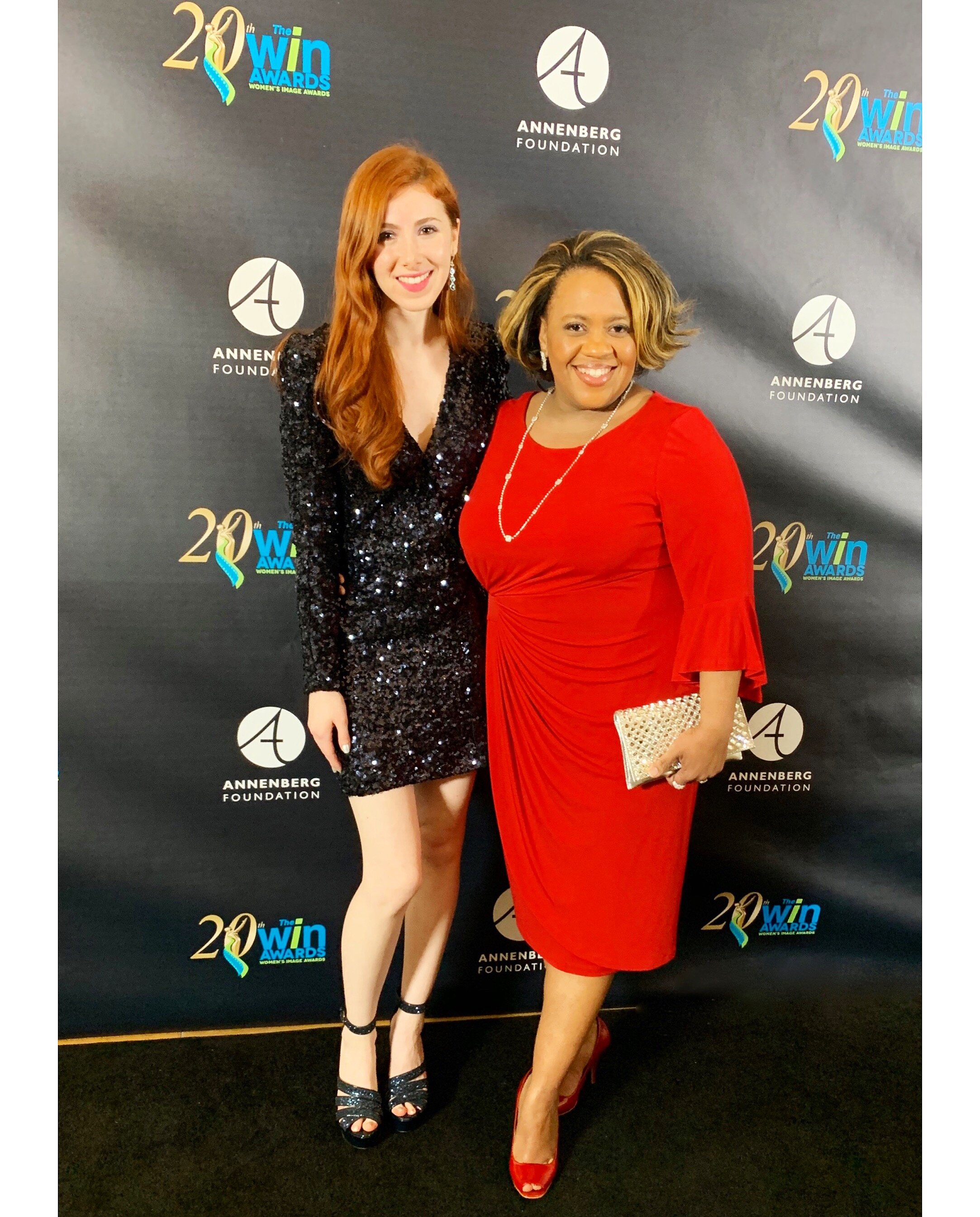 """Fiona & """"Grey's Anatomy"""" star, Chandra Wilson, presenting & performing at the 2019  WIN Awards in Beverly Hills"""