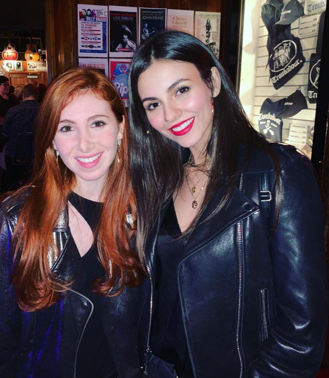 Fiona & longtime gal pal, Victoria Justice
