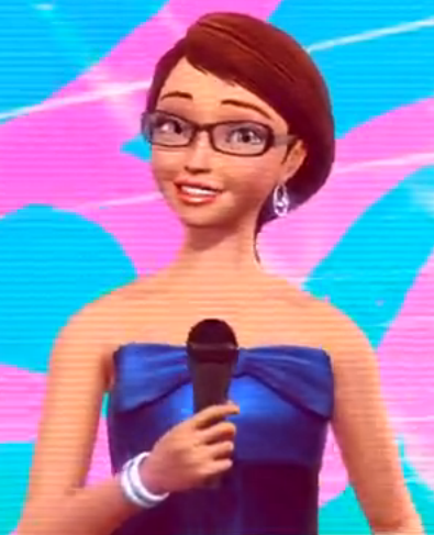 "Barbara Tyson voiced Tracy Clinger in ""Barbie: A Fairy Secret"""