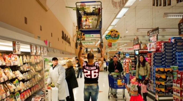 Dominate the Grocery Store.