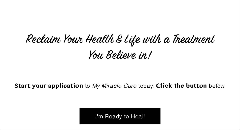 I'm Ready to Heal!