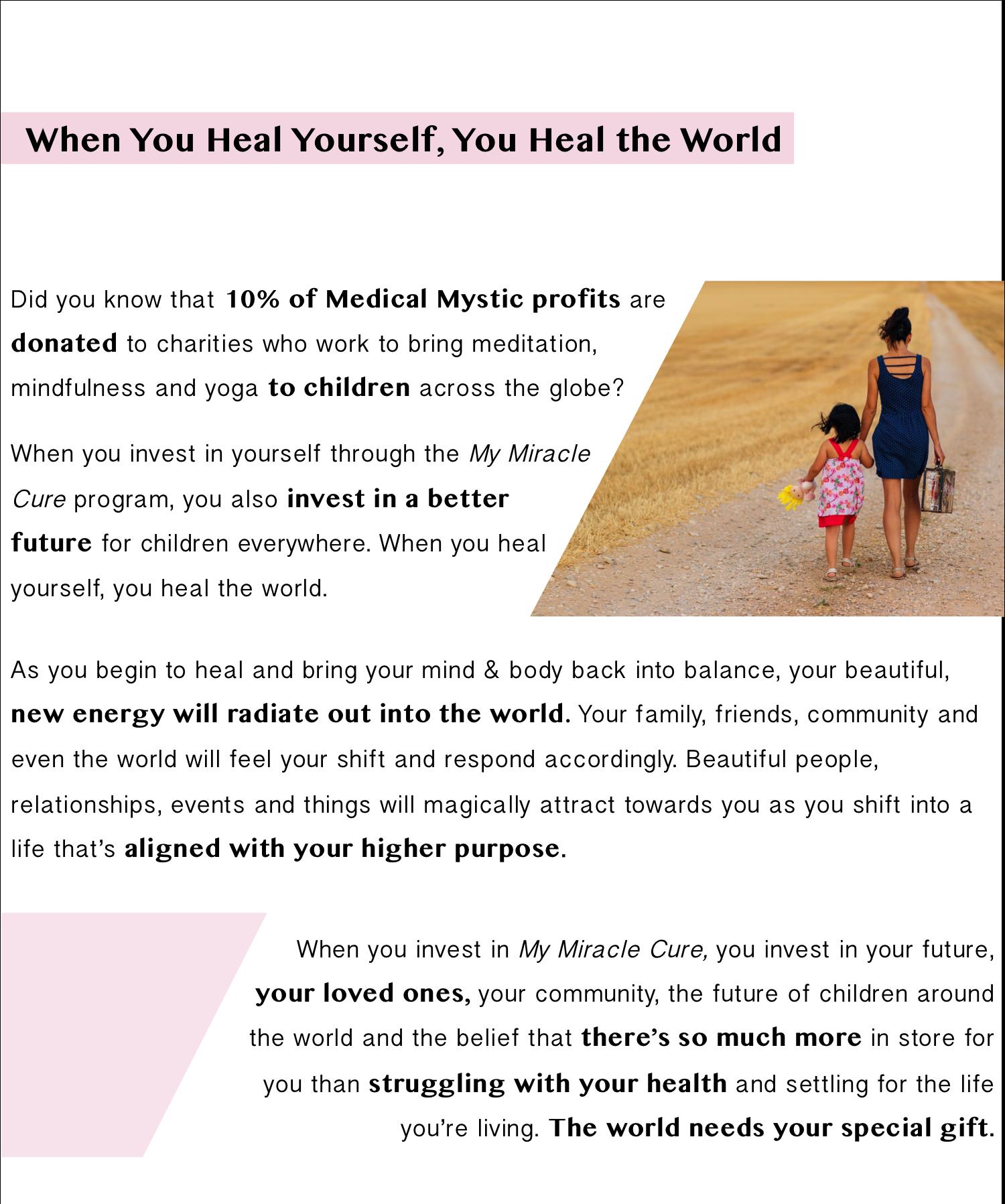 Heal Yourself, Heal the World