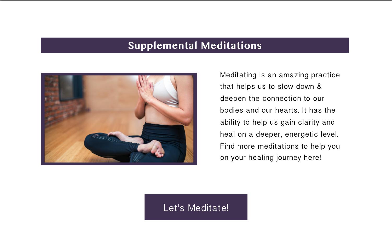 Supplemental Meditations