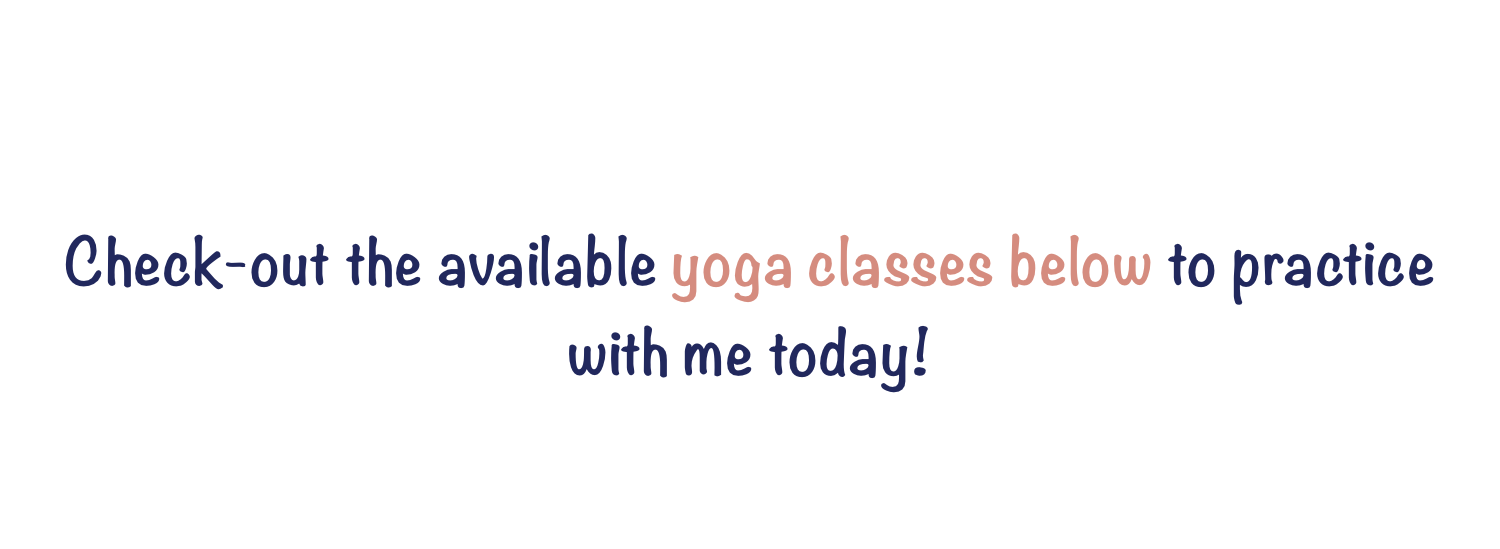 Available Yoga Classes Below