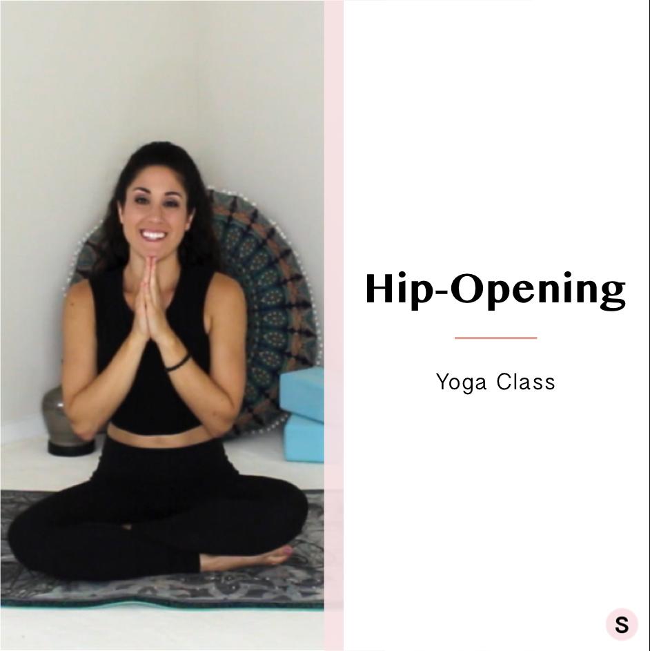 Beginner Level Hip-Opening Yoga Class