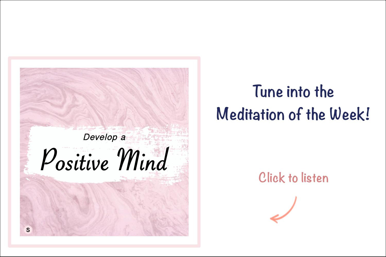 Meditation of the Week