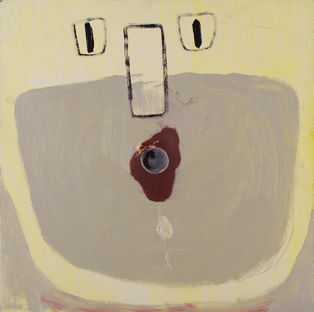 - Sink is a verb2014Oil on panel24 x 24 inches