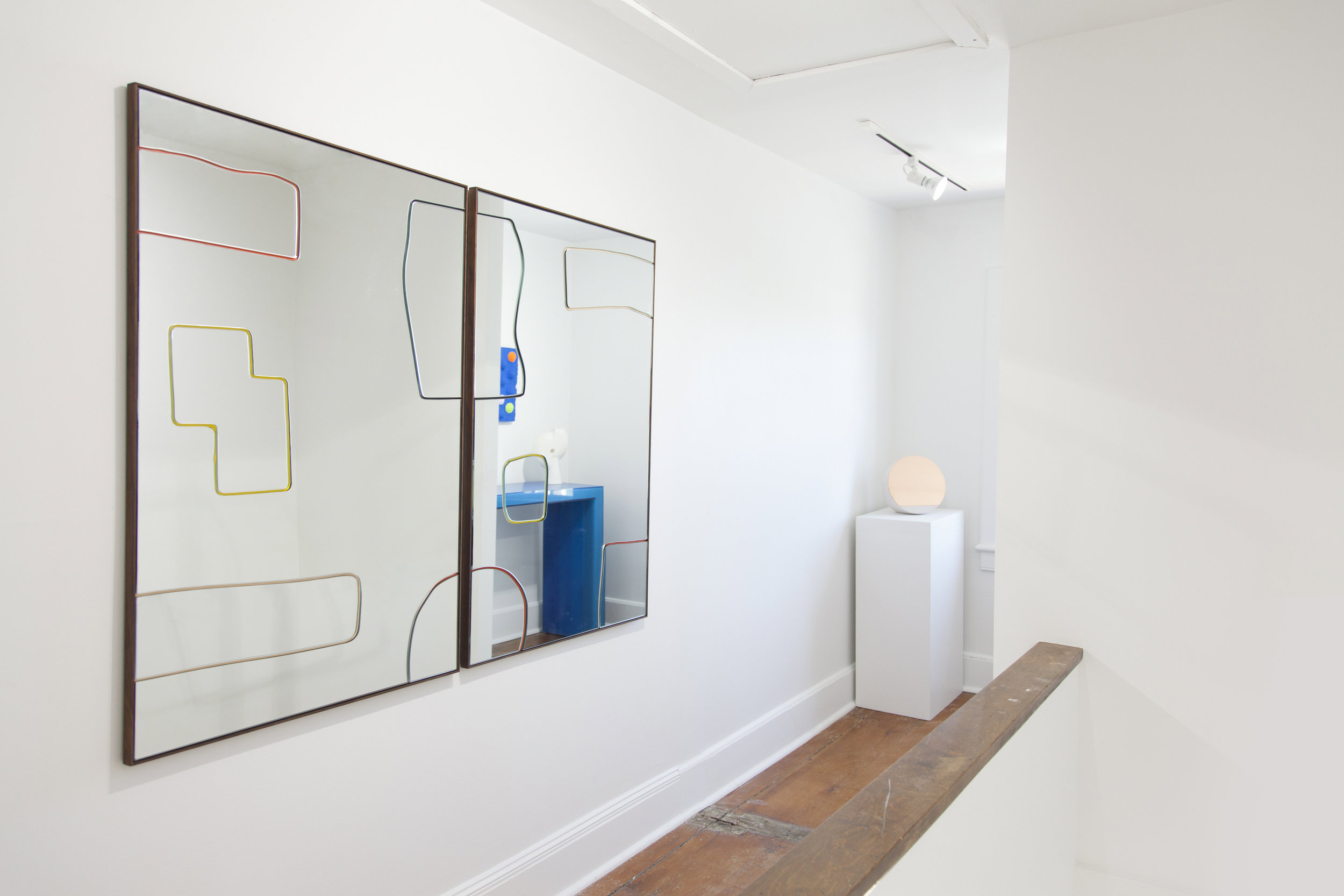 Bower_Dusen Dusen Mirrors-Object of Common Interest Small Mirror-Facture-Humble Matter-Chiaozza in reflection.jpg