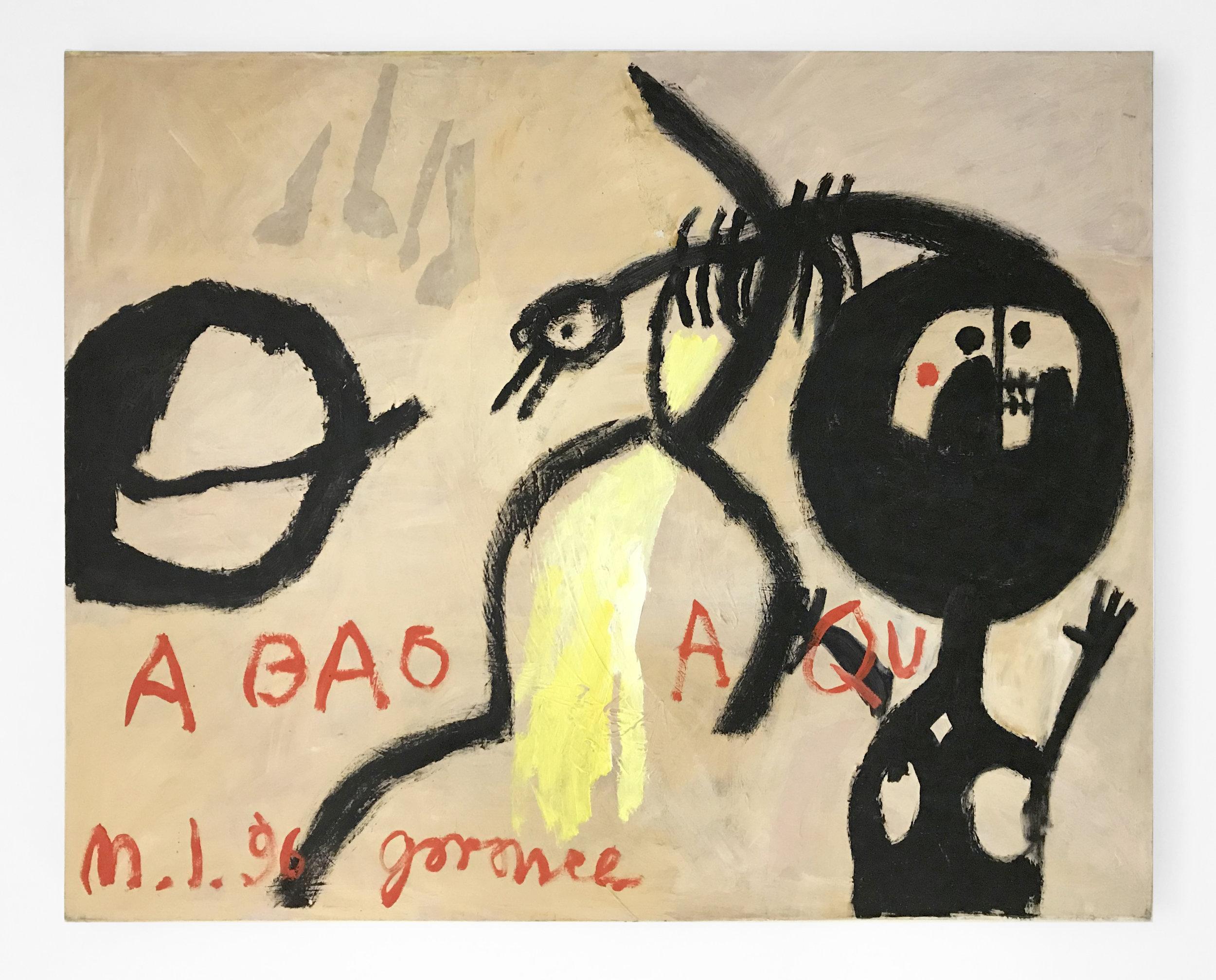 - GaranceA Bao A Qu1996Oil on canvas41 1/2 x 52 inches