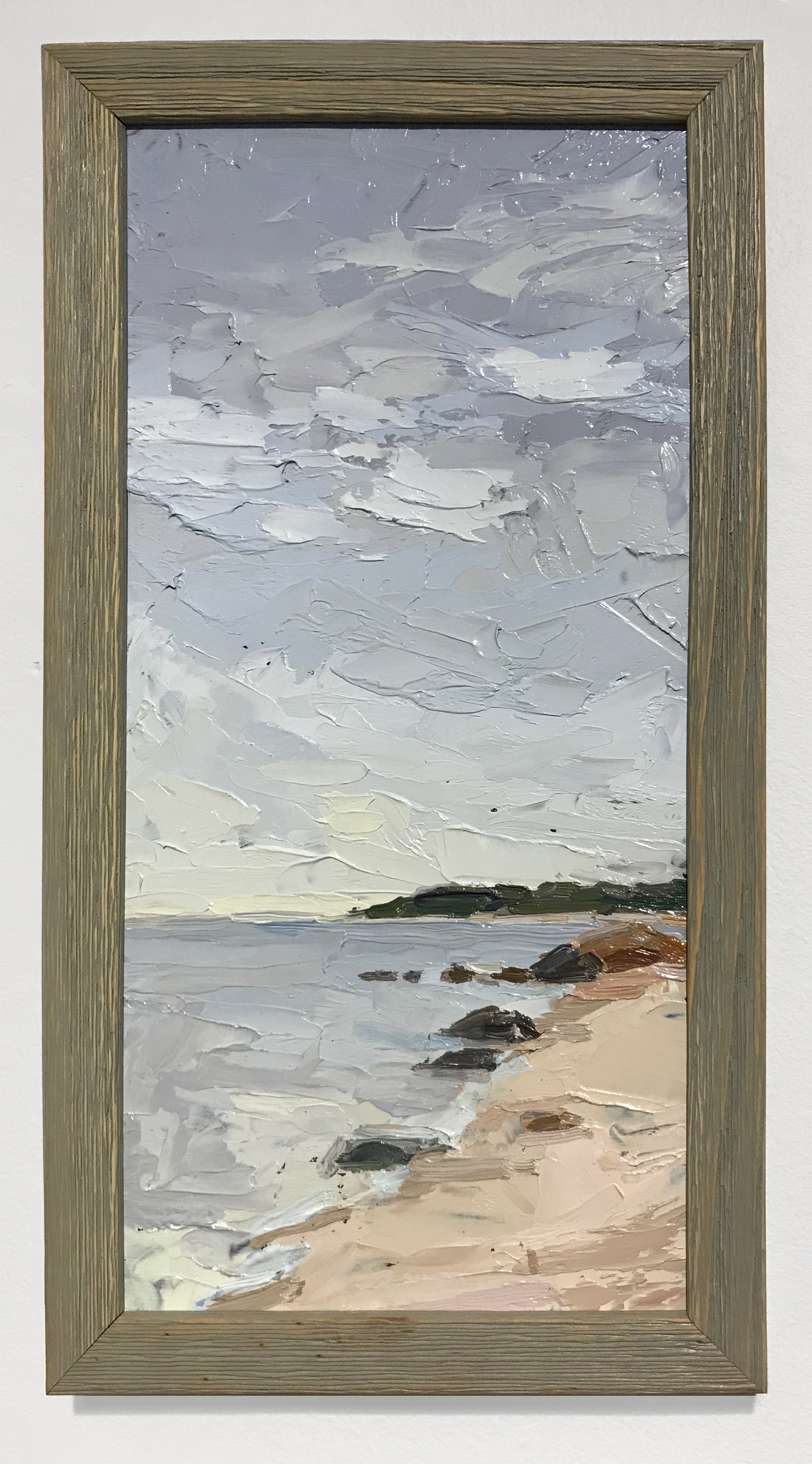 - Amy WorthSoundview 20182018Oil on board in artist's frame13 x 7 inches