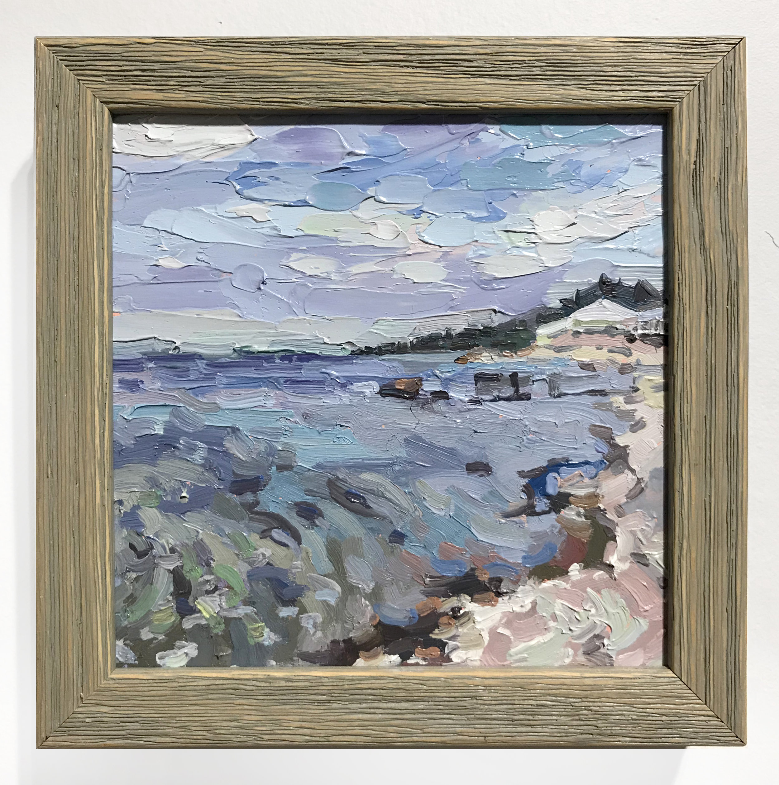 - Amy WorthFrom the Soundview2018Oil on board in artist's frame6 x 6 inches