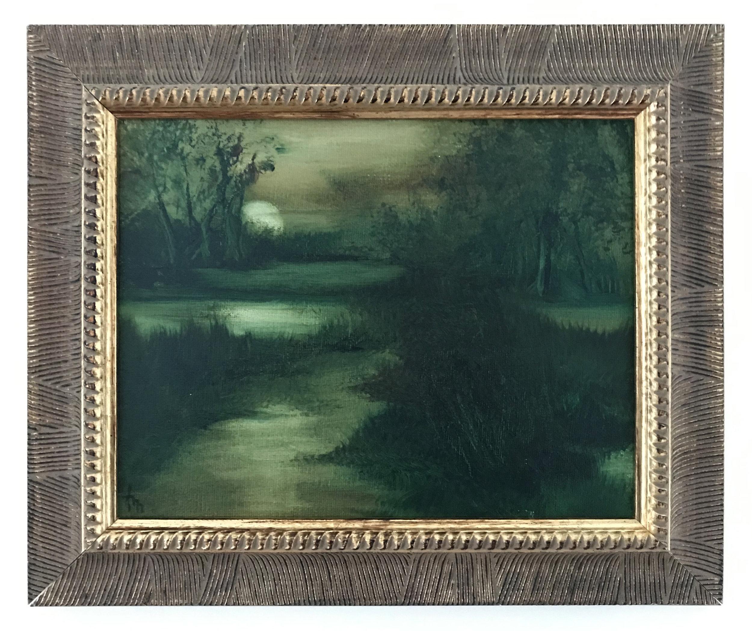 - Ann McCaugheyMoonrise2014Oil on canvas14 x 12 inches