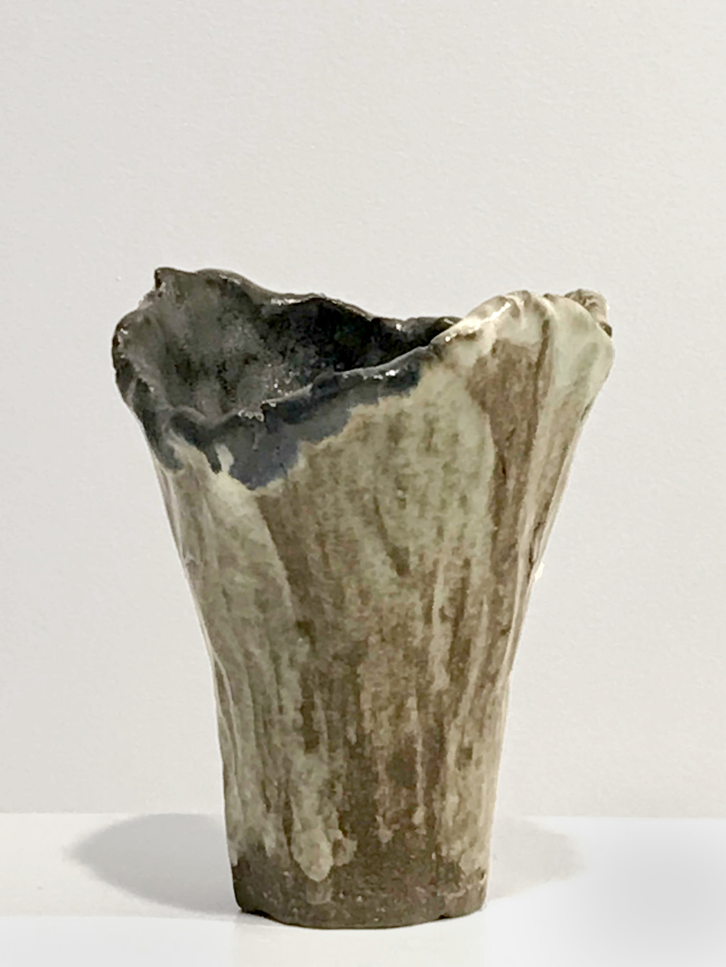 - Dena ZemskyVessel (Maquette II)2018Glazed stoneware3 3/4 x 3 x 3 inches