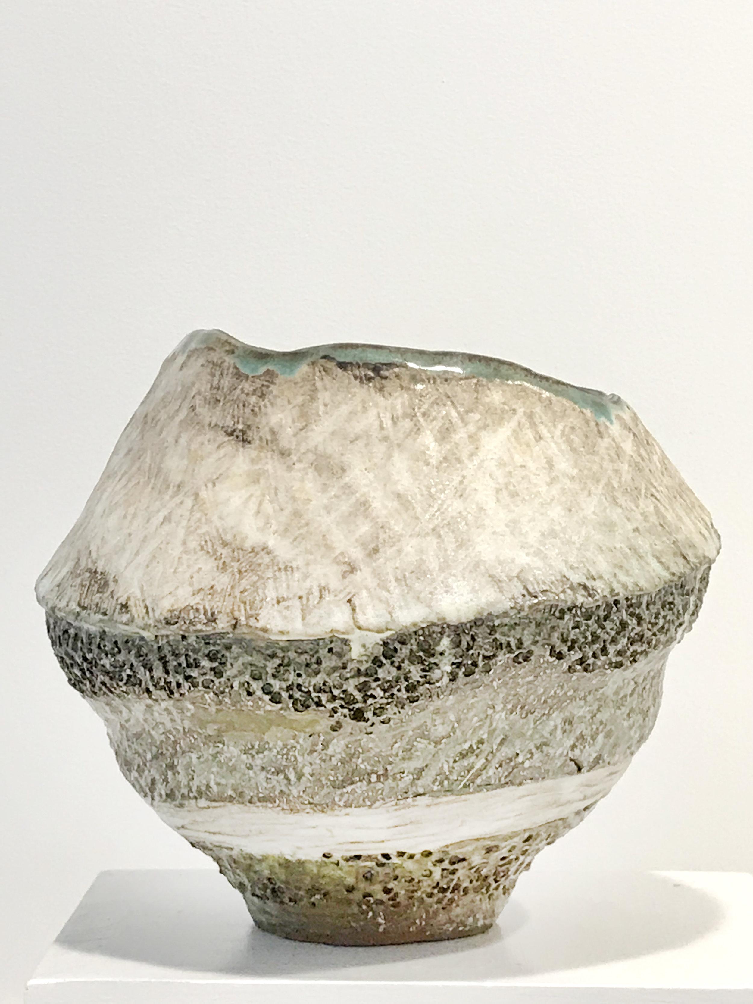 - Dena ZemskyVessel2018Glazed stoneware6 x 6 1/2 x 7 inches