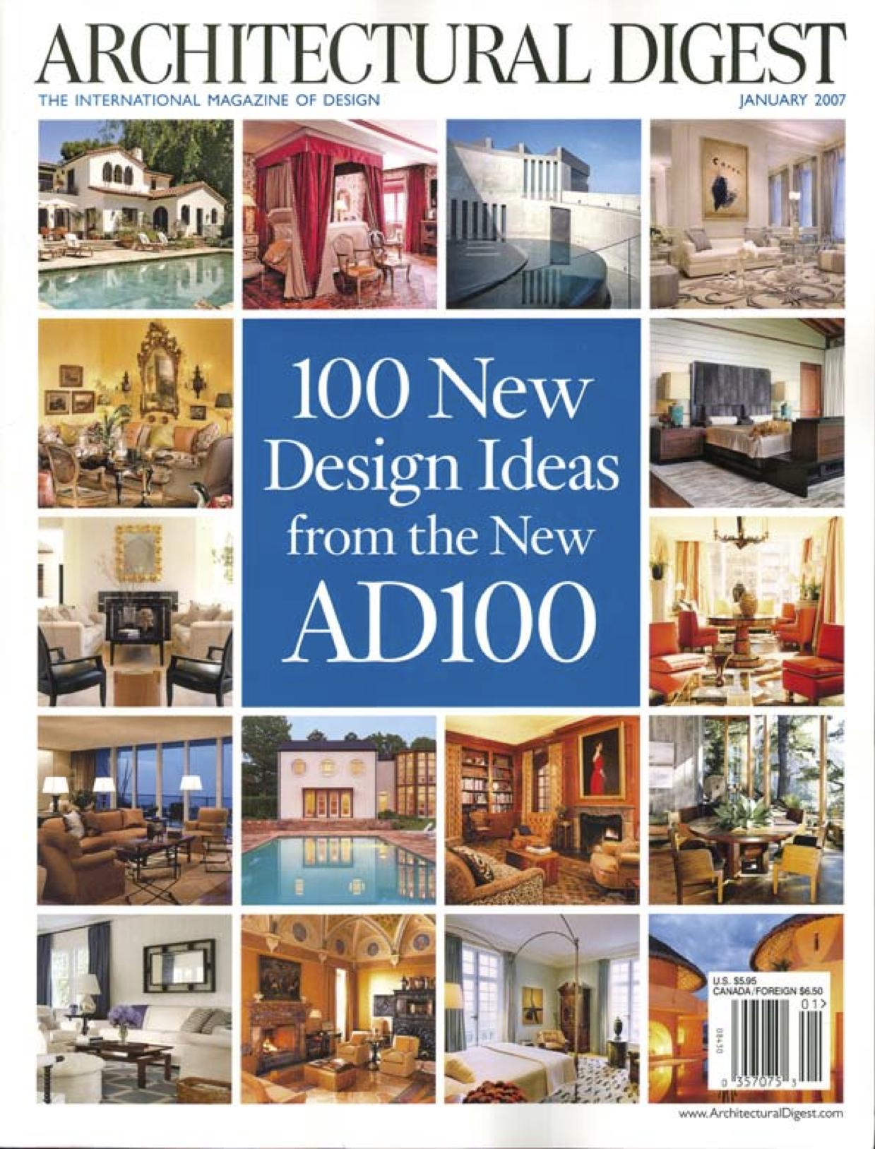 Architectural digest   ad100 jacques saint d