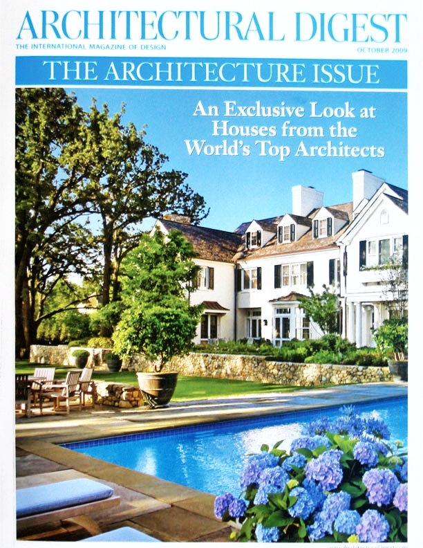 ARCHITECTURAL DIGEST   WINE COUNTRY HOMES