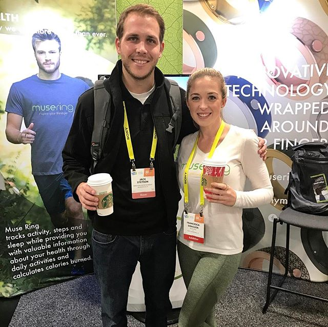 @CES2017 Day 4: So nice meeting Jack from @inmotionent! @starbucks we couldn't have made it through #cesweek without ☕️☕️☕️😎