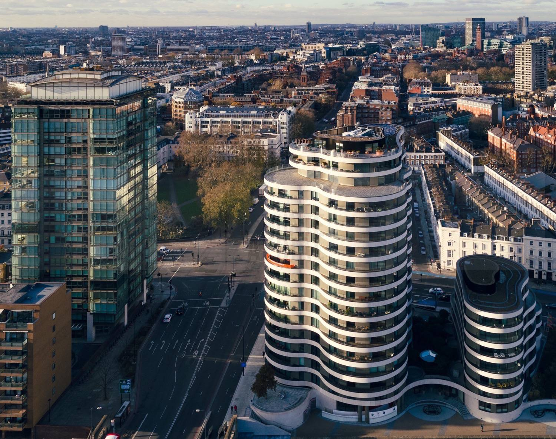 Riverwalk Development (Available via Savills) by Drone Photographer OD Hunte ©2018 Hunte Aerial