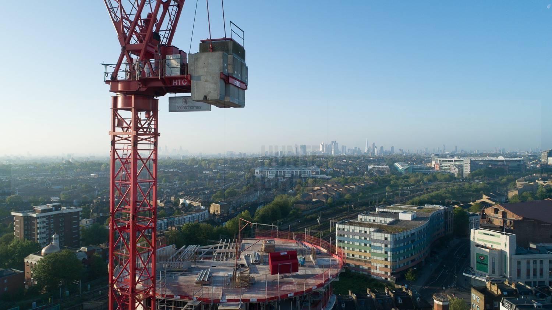 London City Skyline by Drone Photographer OD Hunte ©2018 Hunte Aerial