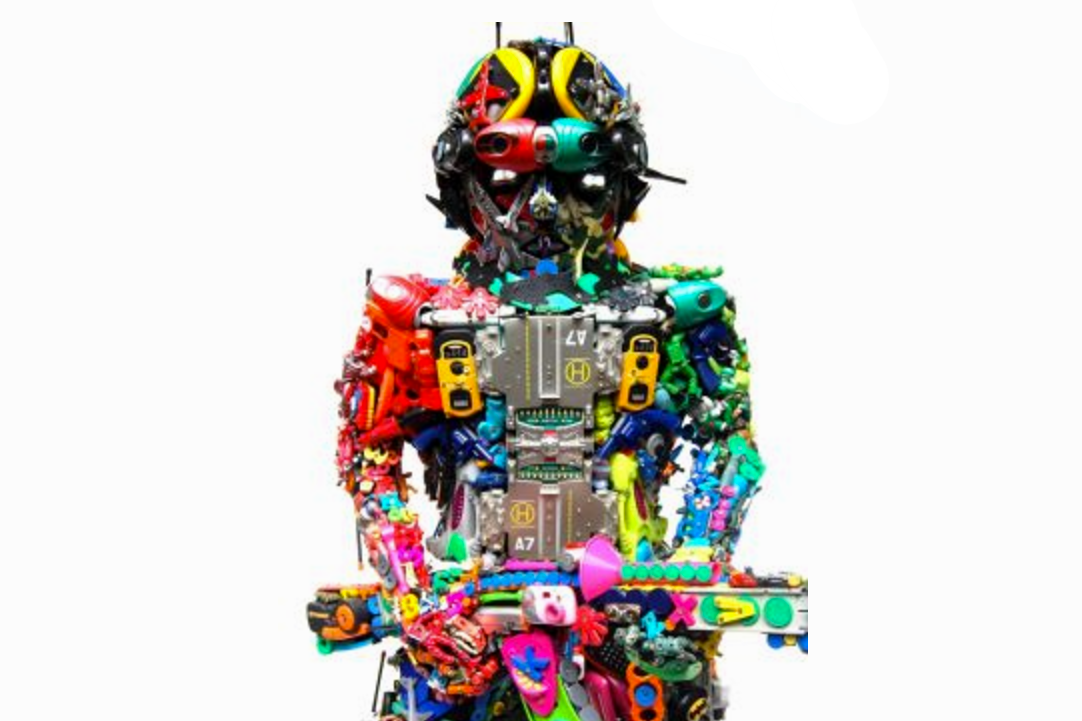 14 Creative Recycled Toy Sculptures - art + Culture
