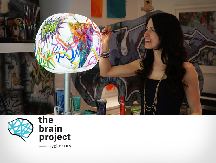 "THE BRAIN PROJECT   ""I was inspired to get involved in this project because unfortunately i know the devastating effects of Alzheimer's Disease."""