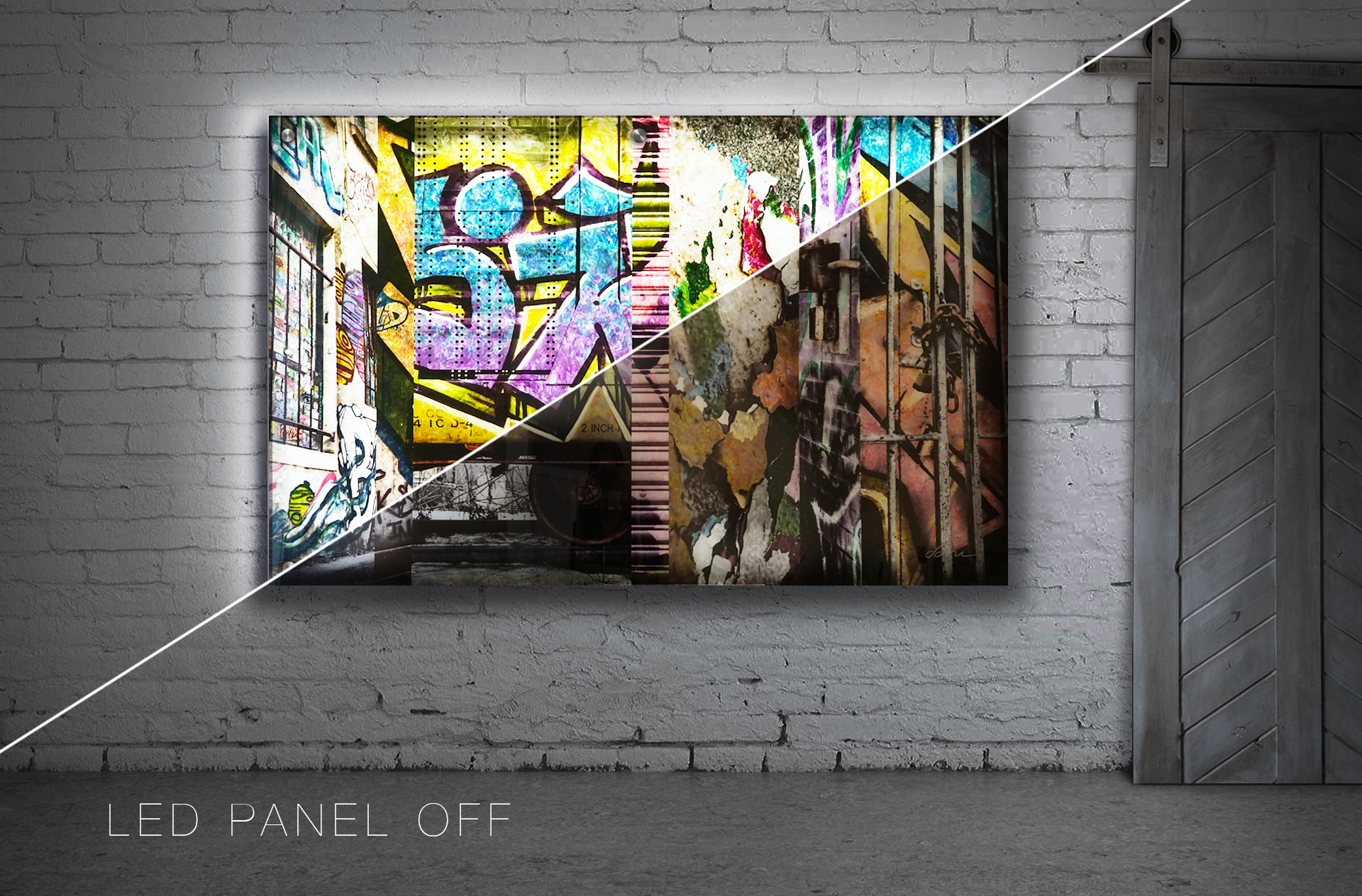 "the collective /  36"" x 72"" / SOLD"