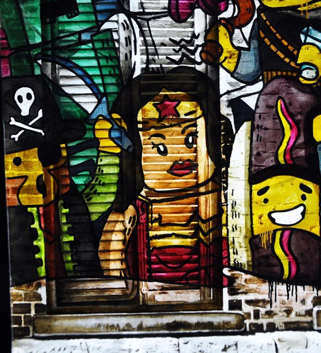 """I am grateful to be a woman. I must have done something great in another life."" - Maya Angelou . . Sending love to all the powerful, fierce, wise and wonderful women I have the honour of knowing and learning from. ⚡️International Women's Day 2019 ⚡️ . . #wonderwoman #iwd2019 #superpowers #lego #graffiti #streetart #instaart #contemporaryart"
