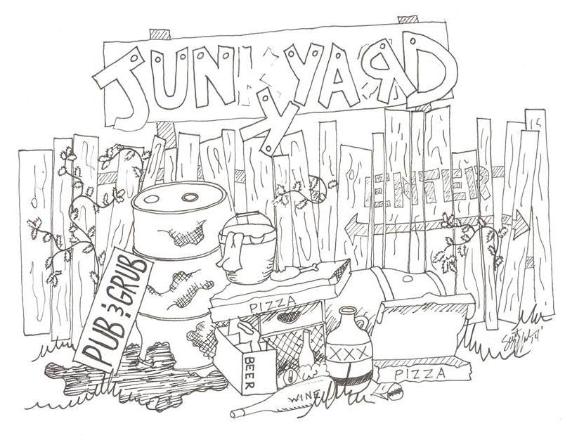 Junk Yard Pub and Grub