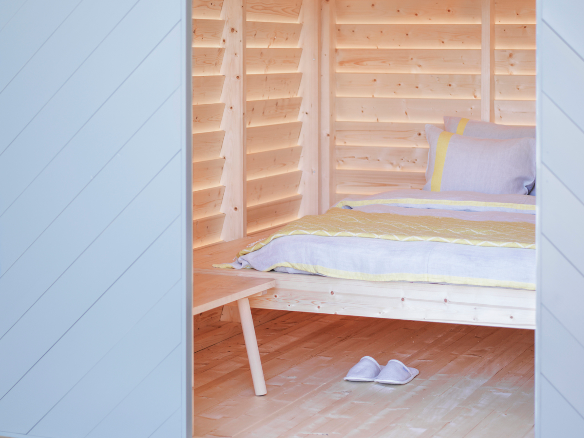 Nikari A Finnish Sleepover   The project feels quite special, since it starts our 50th anniversary year 2017. It combines many things meaningful and dear to us: local manufacturing and wood material as well as collaboration with skilful artists, craftsmen and designers of different fields.