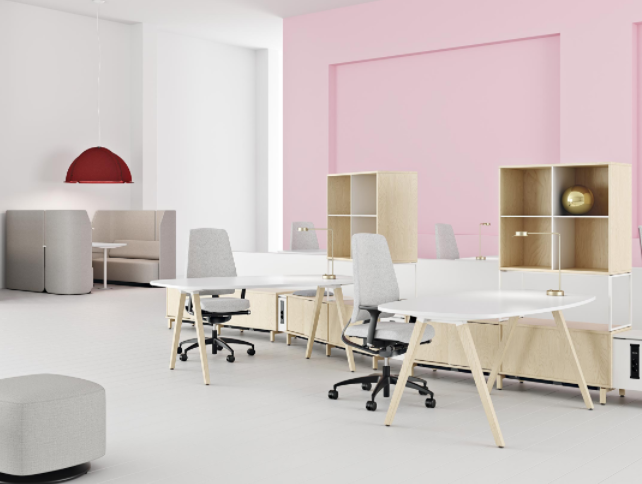 Kinnarps Freedom of Choice   Products and solutions with good ergonomics contribute to an inspiring and healthy workplace. It strengthens the company brand and makes it easier to attract and retain new talents.