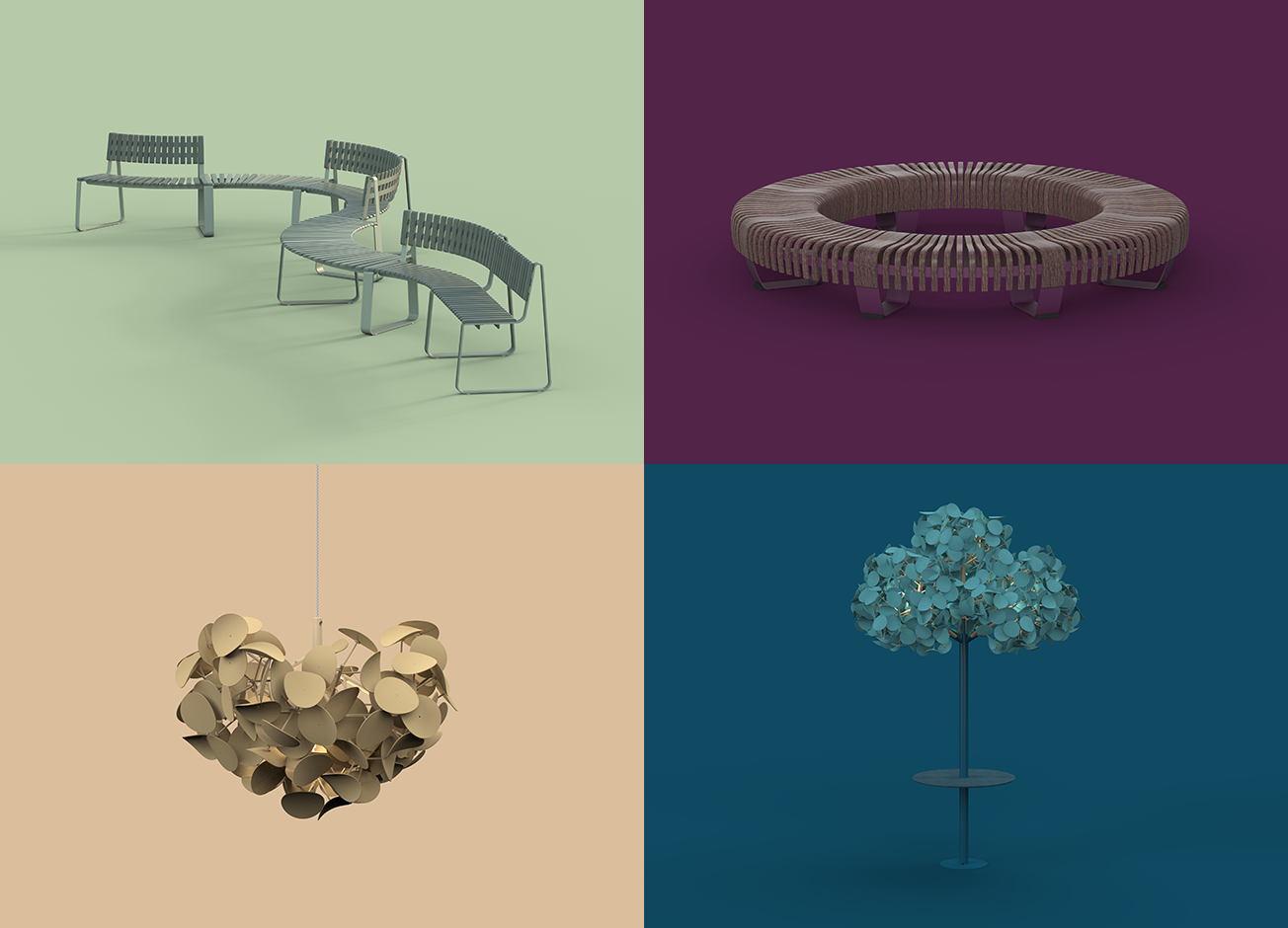 September 2018  Green Furniture Concepts Spring/Summer 2019 Palette   From bold, uplifting tones, to soothing, natural shades, Green Furniture Concepts colours for Spring/Summer 2019 capture the vitality of the seasons to come. Each of these eye-catching tones reflects an aspect of nature that individuals take to heart.
