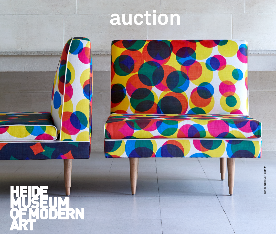 October 2019   Boyd Furniture Auction   Don't miss this opportunity to purchase a one-of-a-kind piece of furniture commissioned for the exhibition   Robin Boyd: Design Legend   at Heide Museum of Modern Art.