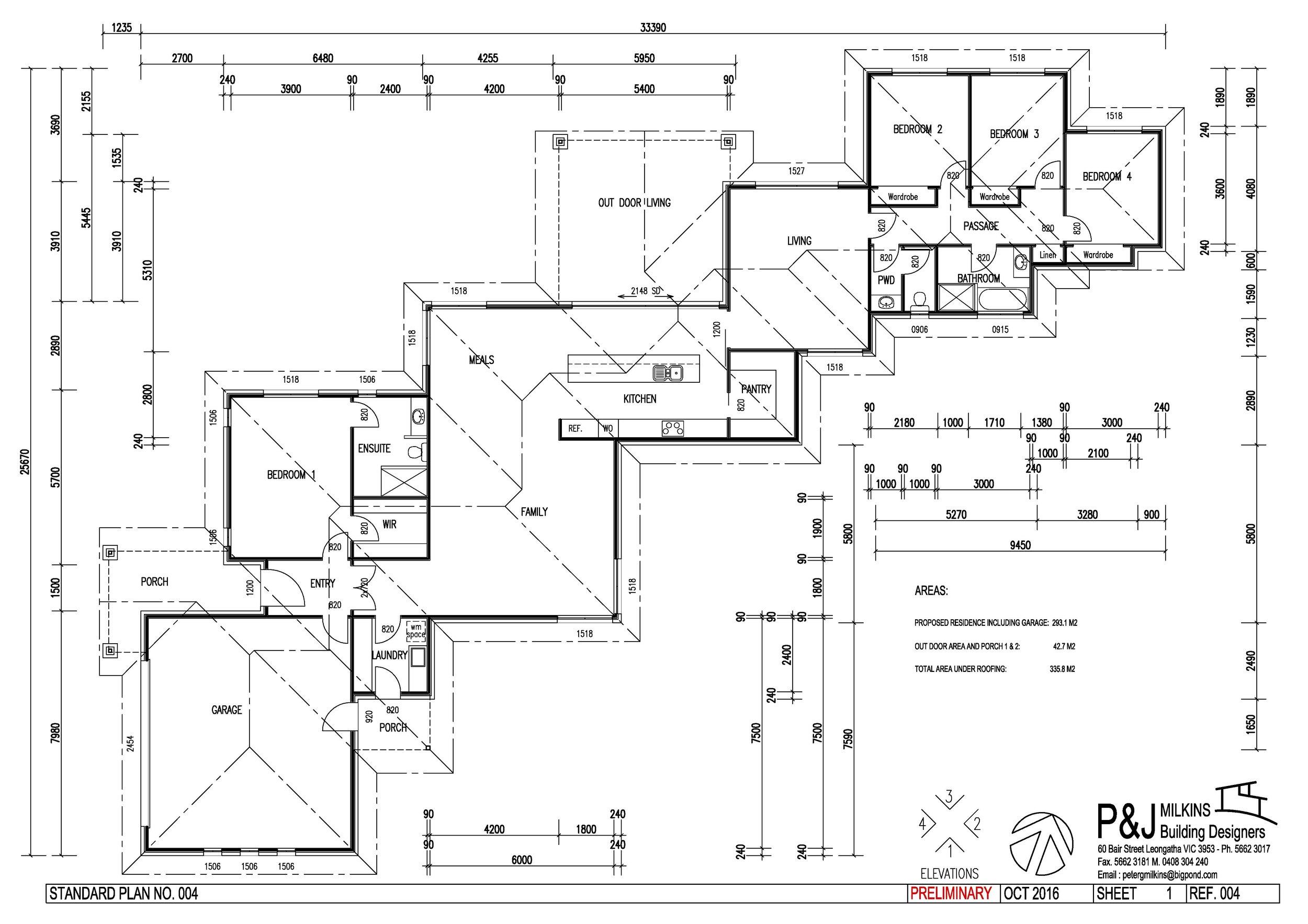 Standard Plan 4-A