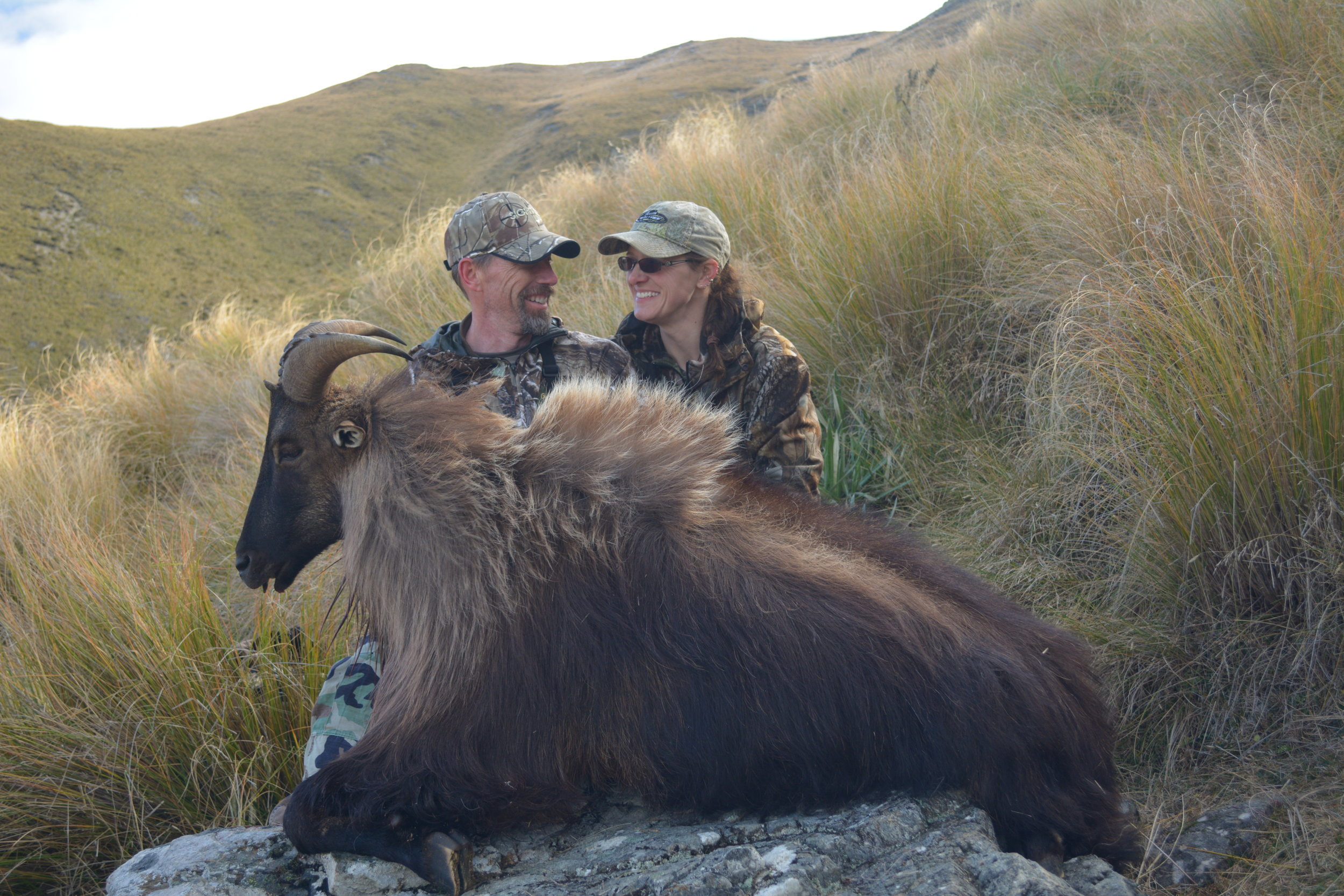 Couple hunts in NZ