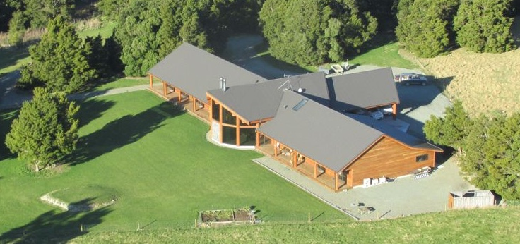 Woodbury Safari Lodge - base of operations for Fraser Safaris New Zealand - owned by the Fraser family.