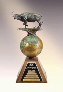 SCI Trophy Animals of the South Pacific award
